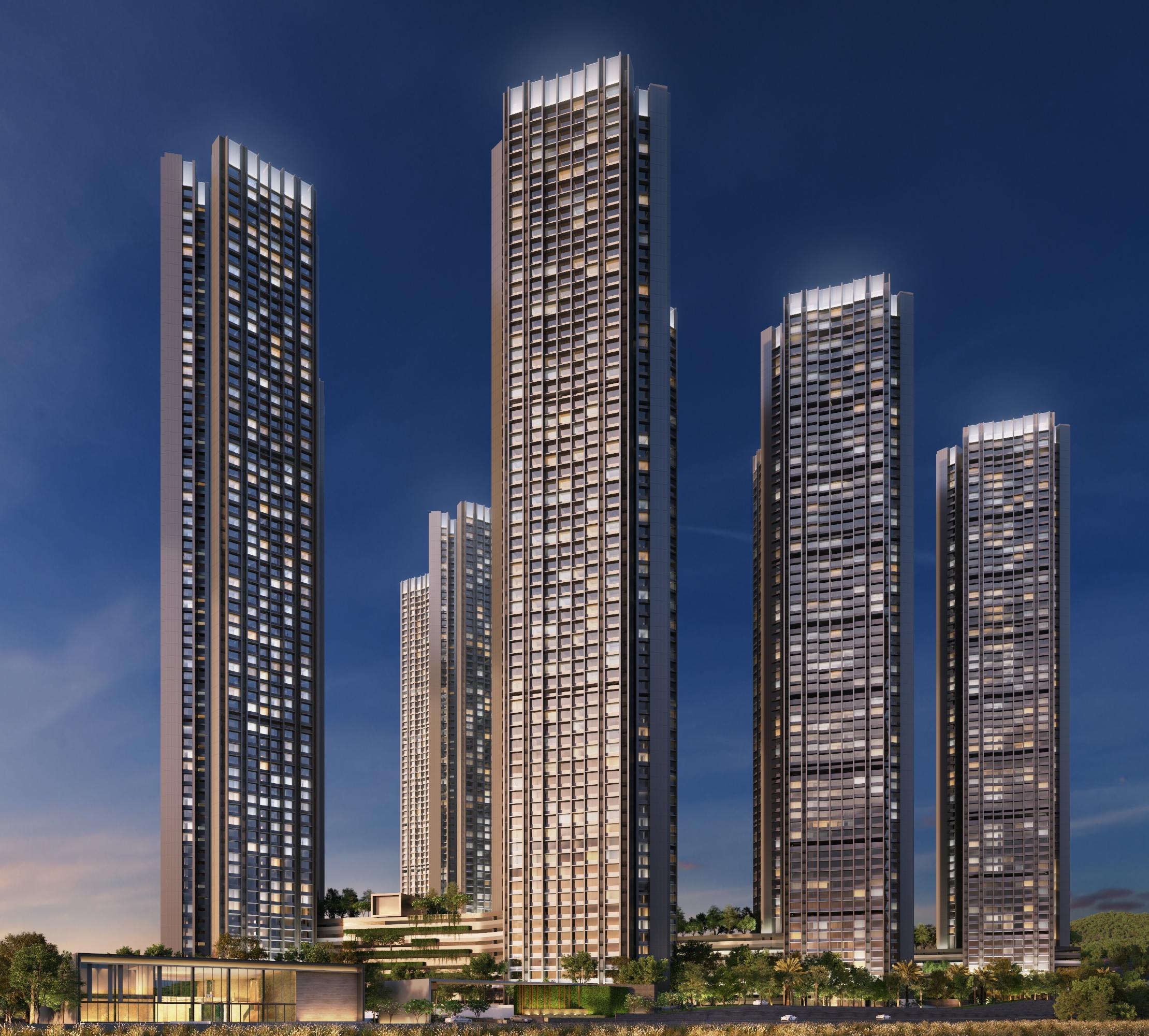 Oberoi Sky City In Borivali East, Mumbai: 1 & 3 BHK Luxury