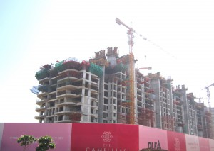 DLF Camellias: Under-construction project on Golf Course Road