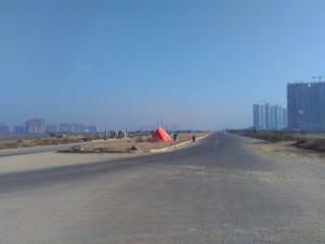 Dwarka Expressway in front of ATS Triumph